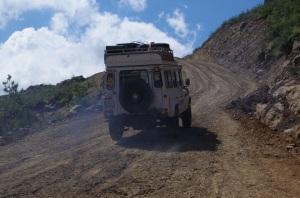 4x4 Drive durch die Berge und Dörfer um Malealea herum