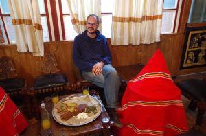 Lecker Essen im Finfine Adarash Hotel
